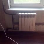 Новый радиатор отопления
