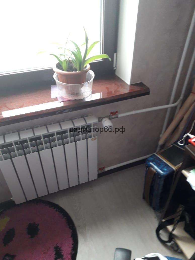 Монтаж радиатора на двутрубной системе отопления