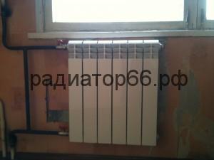 Установка нового радиатора отопления