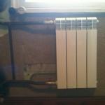 Установка радиатора вместо батареи