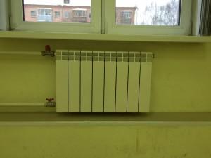 Замена старых радиаторов отопления