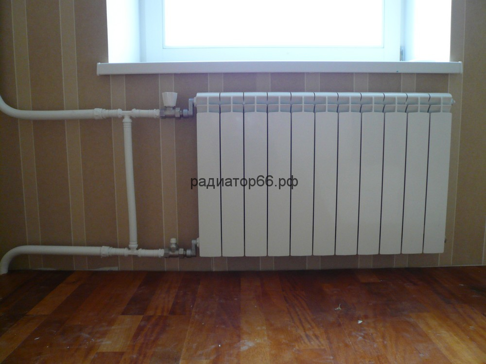 Монтаж радиаторов батарей отопления в Екатеринбурге