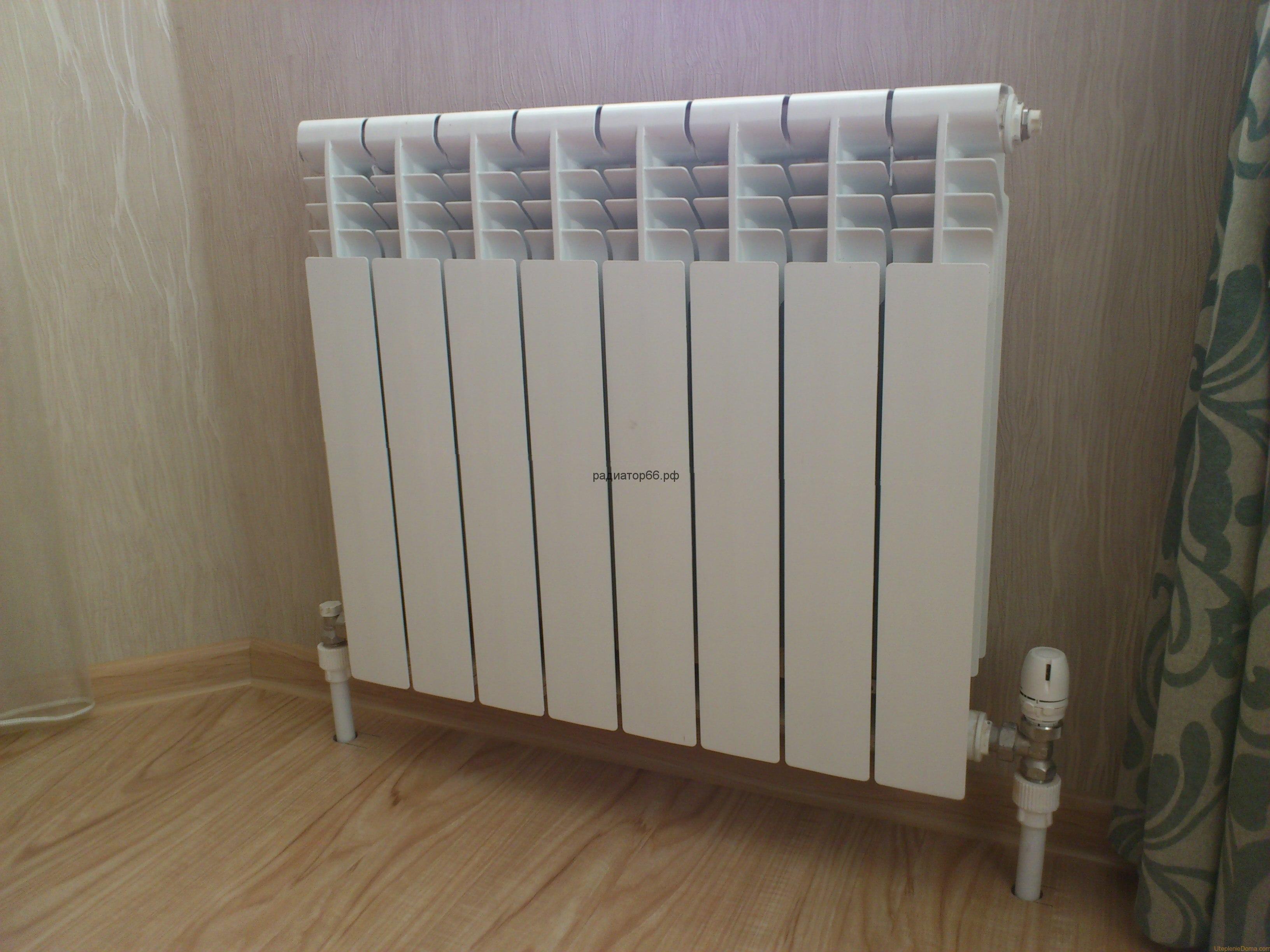Установить радиатор отопления в квартире в Екатеринбурге